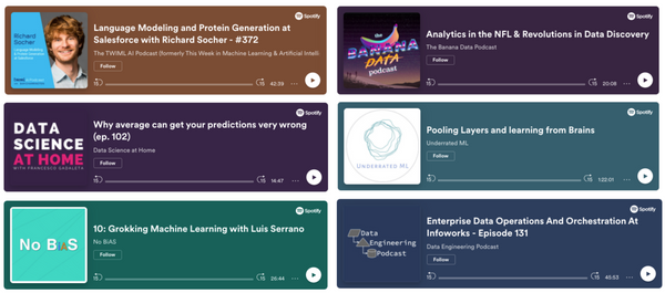 Top AI & Data Science Podcasts